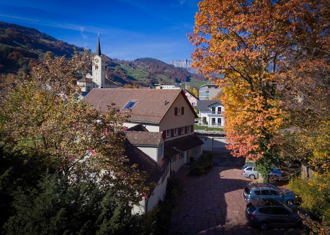 Spring Inn. Active on A great location - Flums - Bed & Breakfast