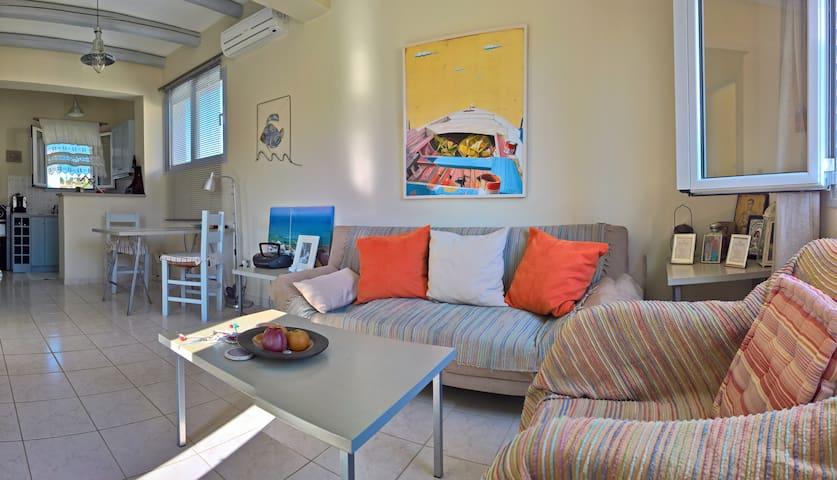 Cosy Apartment next to Korissia beach - Korissia