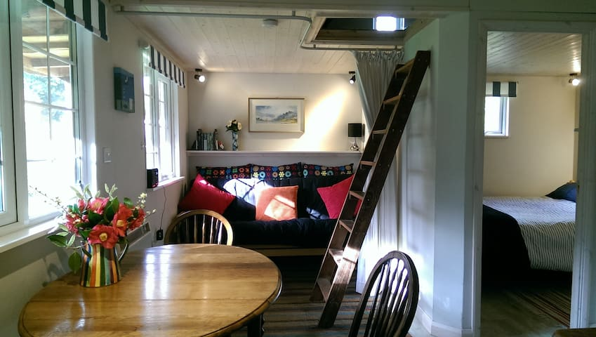 Secluded cosy cabin near town centre - Saint Austell - Chatka