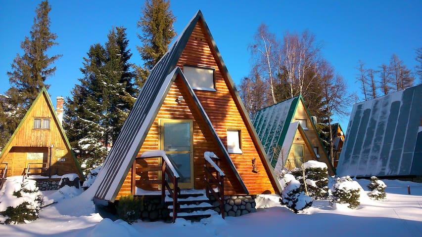 Lovely cabin in mountain village - Štôla - Chalet