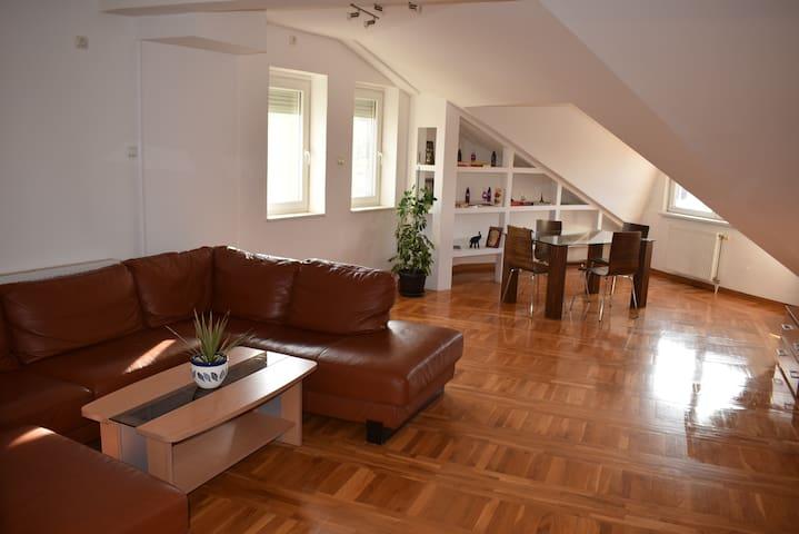 Penthouse in Subotica City Center - Subotica - Lägenhet
