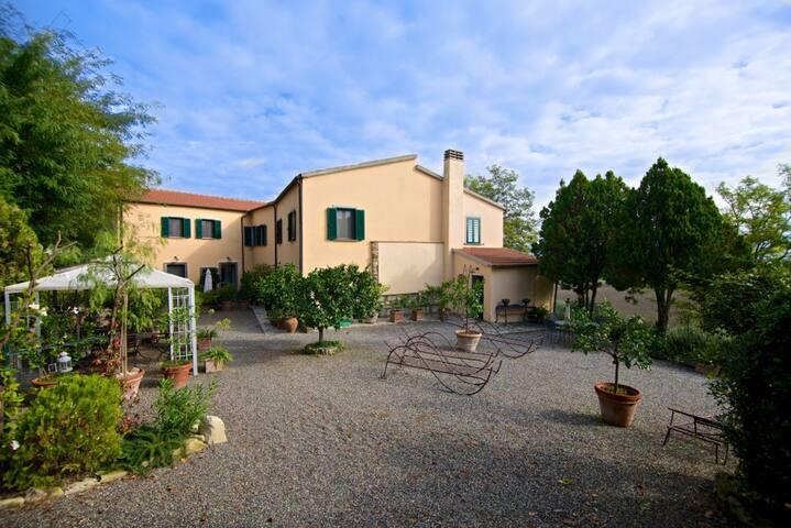 Podere San Martino - Haus Toskana - Castelnuovo della Misericordia - Villa