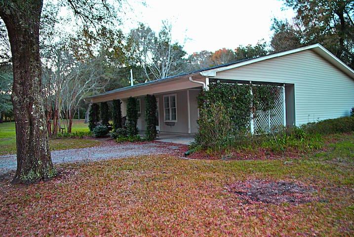 1.5 acre Sanctuary 2 miles from dtown & Mobile Bay - Fairhope - Ev