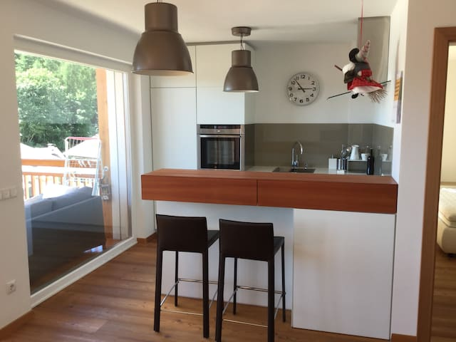 Zaberbach Luxury Mountain Apartment - Collalbo - Daire