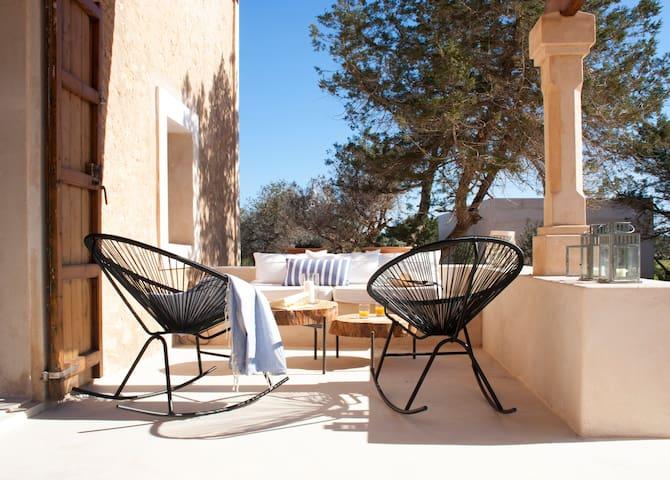 Auténtica casa de vacaciones en Formentera - Formentera - Huis
