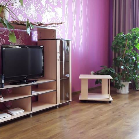 Просторная квартира-студия в центре - Grodno - Lägenhet