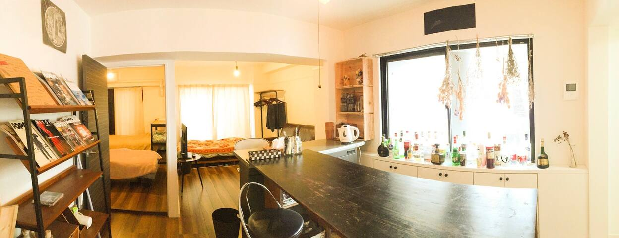 【Sakae, Osu】Photographer's room a lot of alcohol! - Nagoya-shi - Apartment