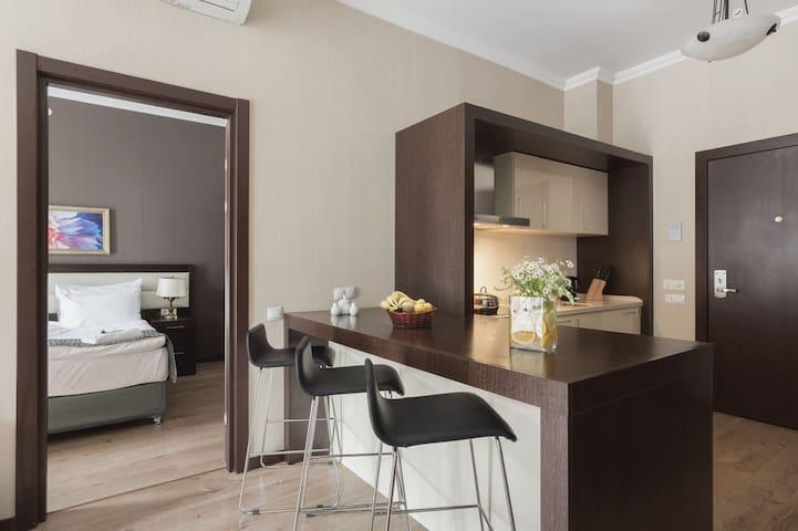 Апартаменты в Красной поляне с двумя спальнями - Krasnaya Polyana - Apartemen berlayanan