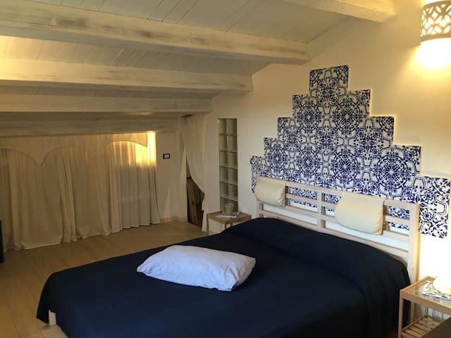 Loft in villa con piscina tra Palermo e Cefalù - Termini Imerese - Appartement