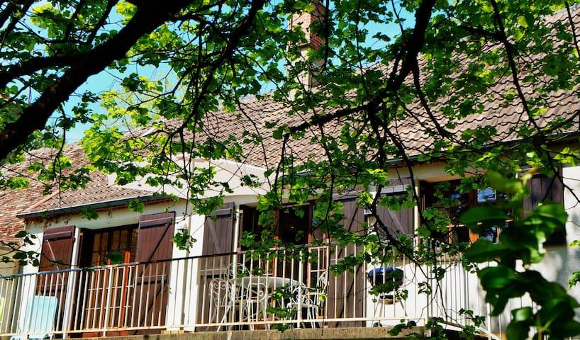 Maison au coeur d'un parc boisé - Saint-Amand-en-Puisaye - Casa