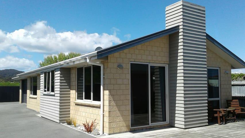 Spacious Modern Apartment (30 mins from Hokitika) - Greymouth - Leilighet
