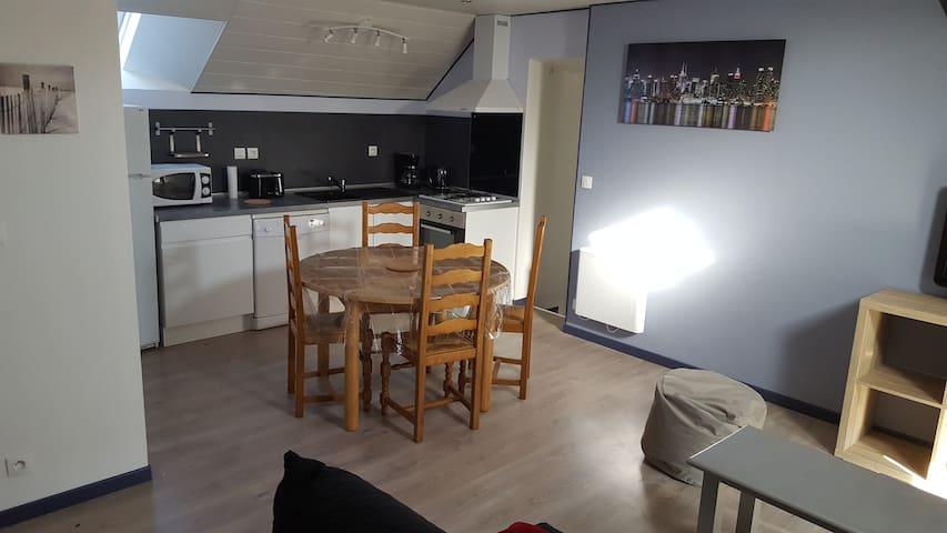 Chez Jo et Anne-Marie - Balleroy - Lägenhet