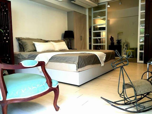 Designer's house 2 設計師的家2館 - Shilin District - Daire