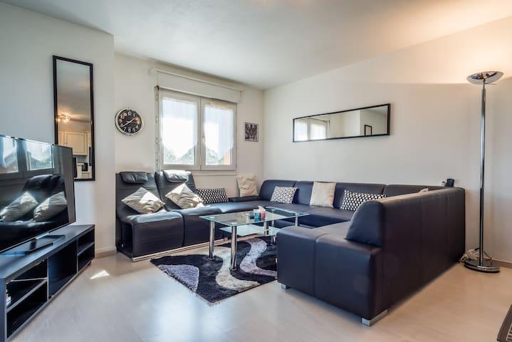LOVELY BIG APARTMENT NEAR GENEVA AND SKI - Etrembières - アパート