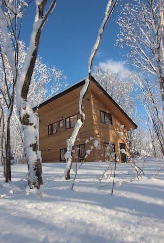 Brand new one-bed cottage in Niseko - Niseko - Casa