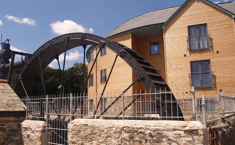 The Waterwheel Apartment, Charlestown, St Austell - Cornwall - Appartement