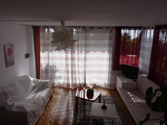 1 double bedroom apartment & garden - Los Llanos - Apartemen