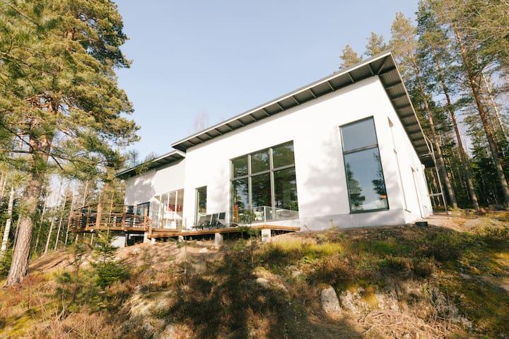 Designers house by lake, 200 sqm - Vihti - Casa