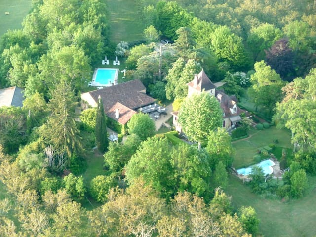 Bed & Breakfast Castel Du Bouysset - Saint-Martin-le-Redon