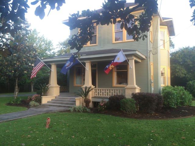Historic home in Cajun Country - Lafayette - Talo
