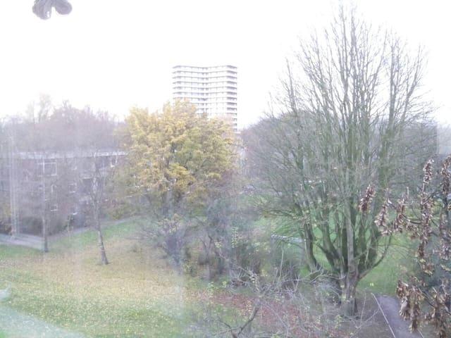 Quiet room, bike provided - Wageningen - Appartamento