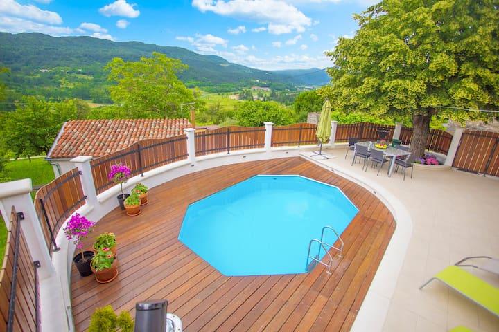 Casa Bepo&Bepa met zwembad - Buzet - Huis