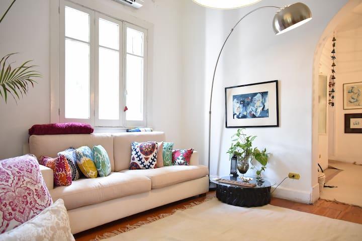 Cozy, Spacious, Sunny & Clean - Kairo - Apartemen
