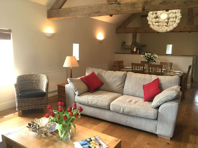 The Barn at Ivy House Farm - Warslow - Huis
