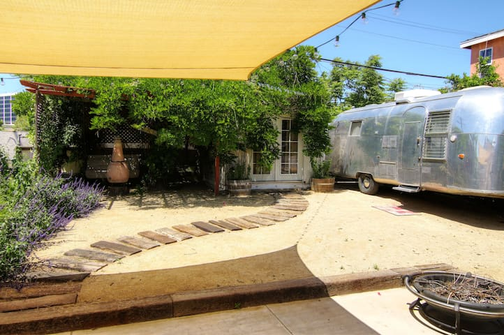 Vintage Airstream Trailer by LAX - Los Angeles