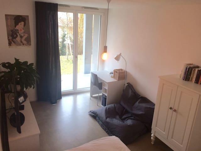 Privatzimmer im Grünen und in der Nähe von Aarau - Biberstein - Appartement
