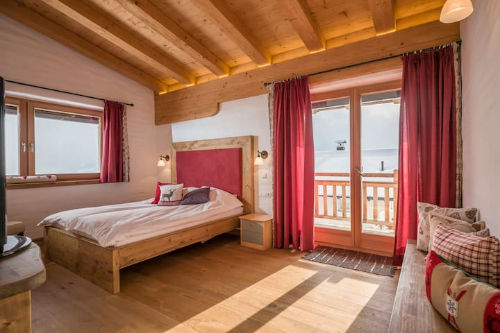 Panorama double room in Kitzbuhel Alps - Penningberg - Bed & Breakfast