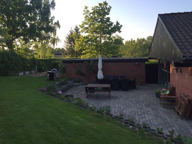 Familievenlig & hyggelig villa tæt på Århus C - Aarhus - Rumah