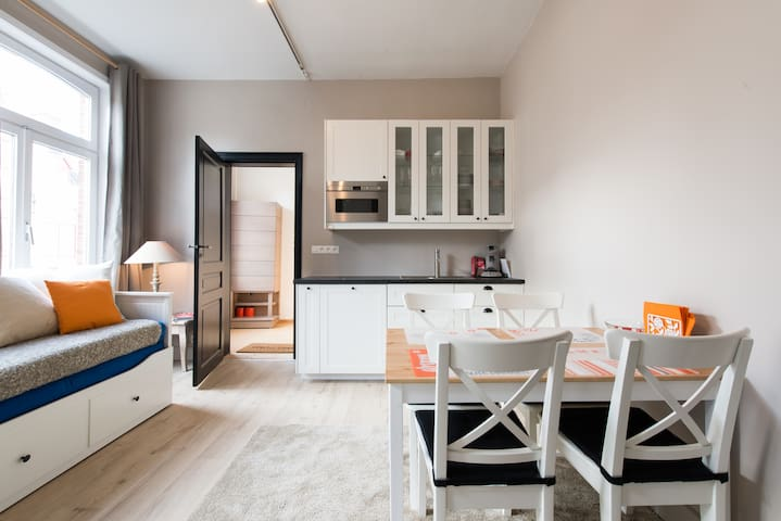Lovely and clean in an excellent location - Bruges - Apartamento
