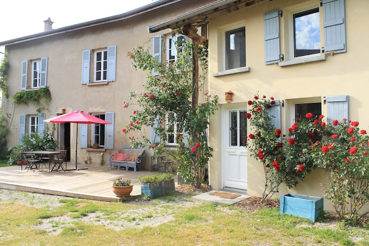 Grande maison Dauphinoise - Châteauvilain - Hus