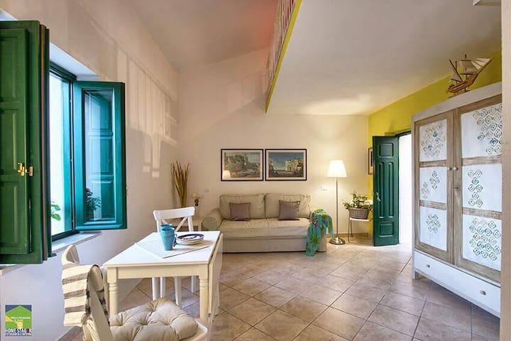 """Prenota il tuo soggiorno con noi a """"Casa di Basso"""" - San Nicola Arcella - 一軒家"""