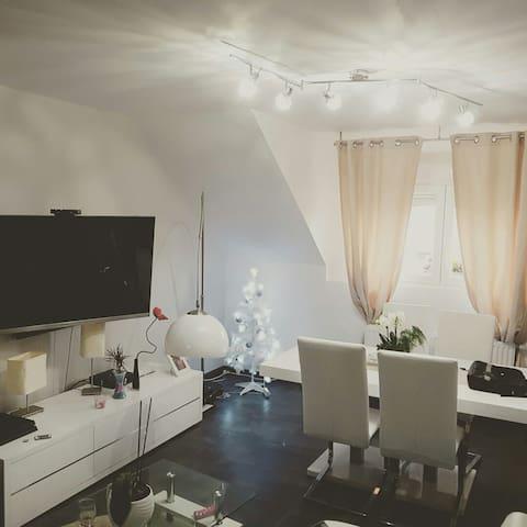 Jolie chambre dans appartement cosy - Wittelsheim - Lägenhet