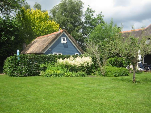 Giethoorn,Welkom in ons Blauwe huis - Giethoorn - Leilighet