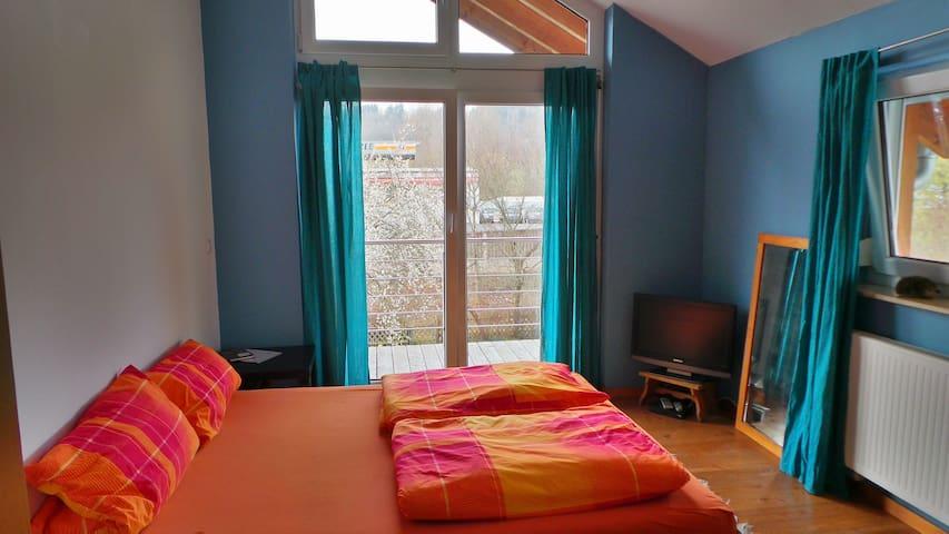 Cosy double-room with bathroom - Hechingen - Ev