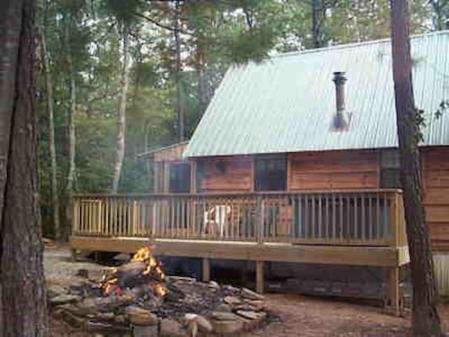 Cupid's Cove Log Cabin - Coker Creek - Cabaña
