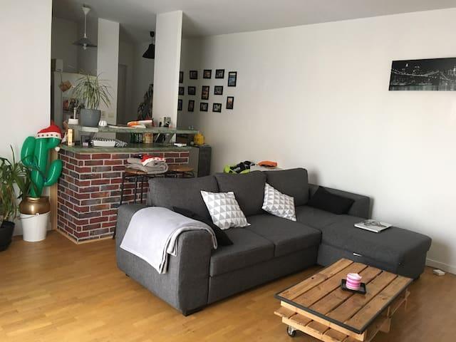 Appartement 2 piéces calme et lumineux - Maisons-Alfort - Appartement