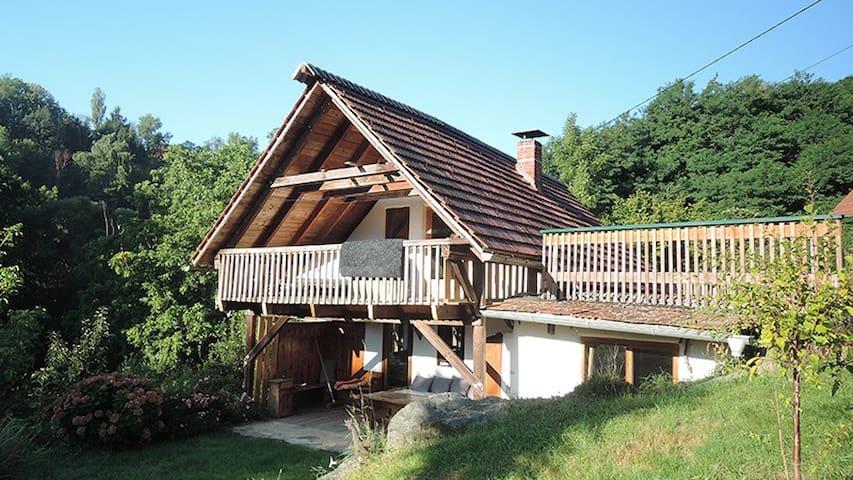 Ferienhaus in den Südsteirischen Weinbergen - Ratsch an der Weinstraße - Ev