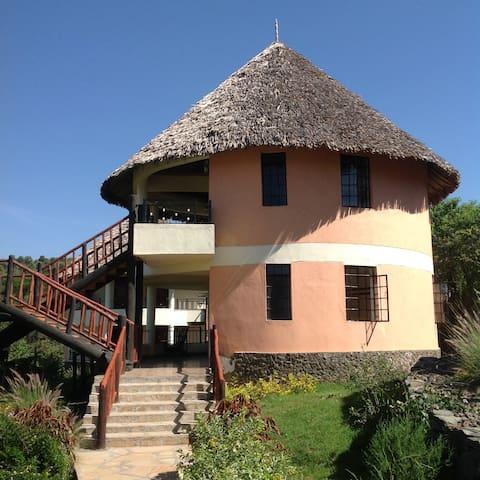Your room with panaromic lake view. - Nakuru County - Alpstuga
