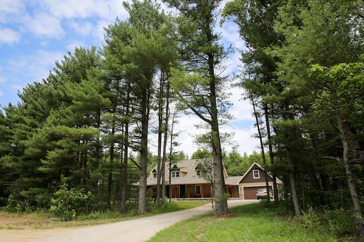 Green Woods B&B- West Room - De Motte - Casa
