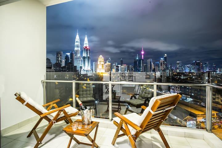 SETIA Sky *KLCC* - Premier Two Bedroom Suite #1 - Kuala Lumpur - Daire