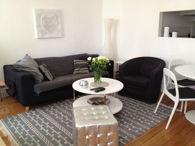 Appartement Jardin Godron (Centre) - Nancy - Lägenhet