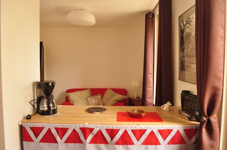 Studio pour curistes et amoureux de la nature - Lamalou-les-Bains - Apartamento