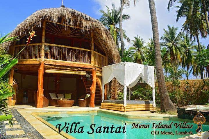 Villa Santai,@ Meno Island Villas, Gili Meno - Pemenang - Villa