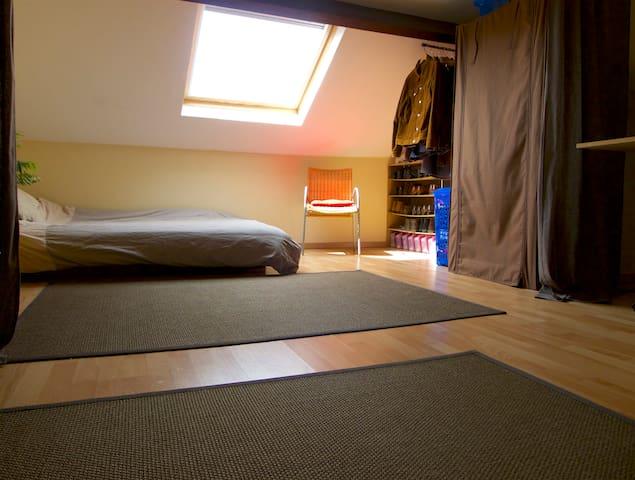 Room in house - Easy access Paris and Disneyland - La Ferté-sous-Jouarre - Şehir evi