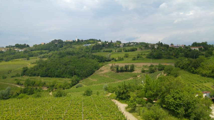Camera tripla con vista panoramica - San Floriano del Collio - Bed & Breakfast