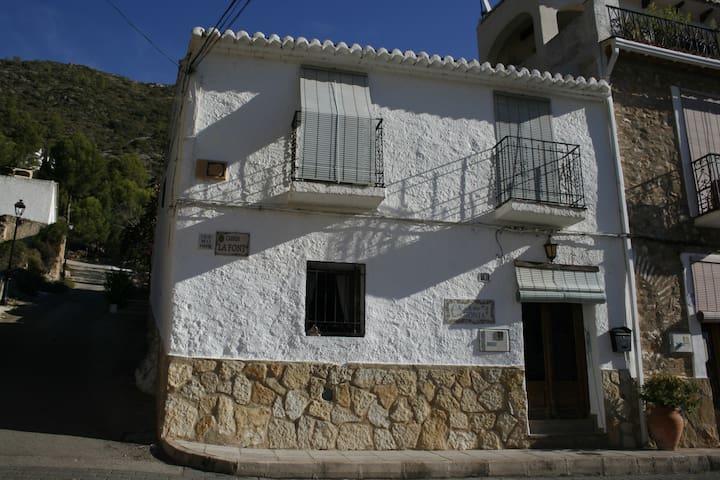 Delighful traditional village house in Forna - L'Atzúbia - Talo